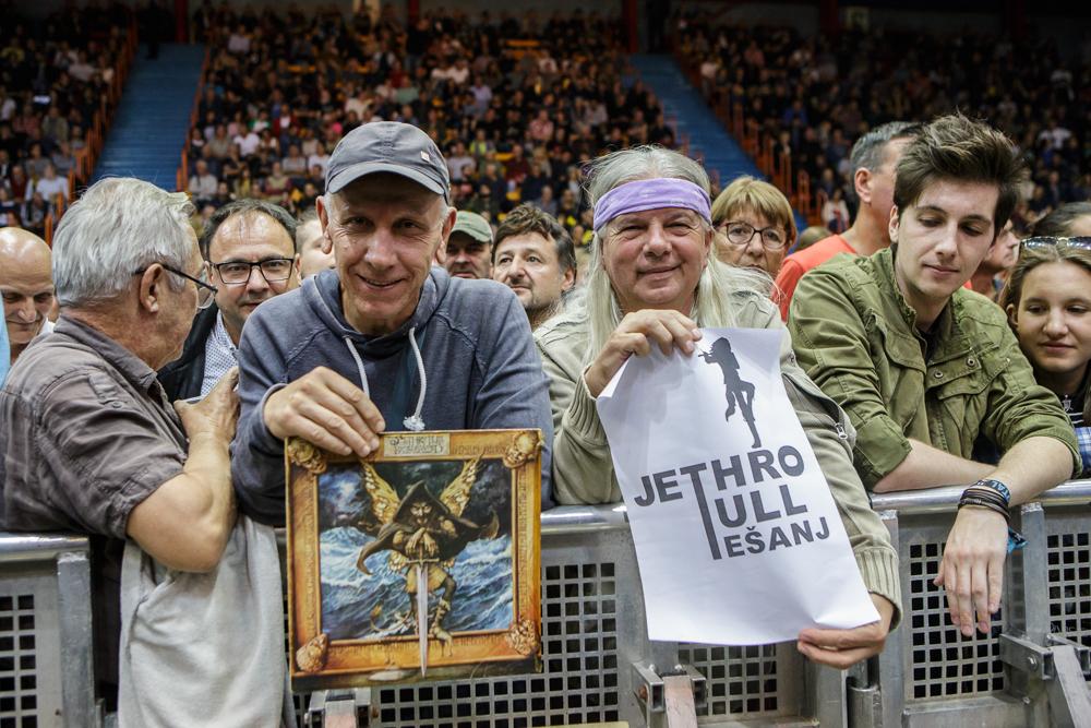Koncert Jethro Tul, Zagreb