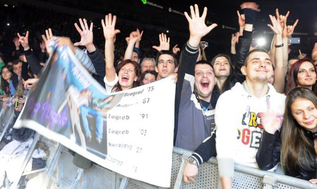 Tešanj na koncertu Deep Purpla